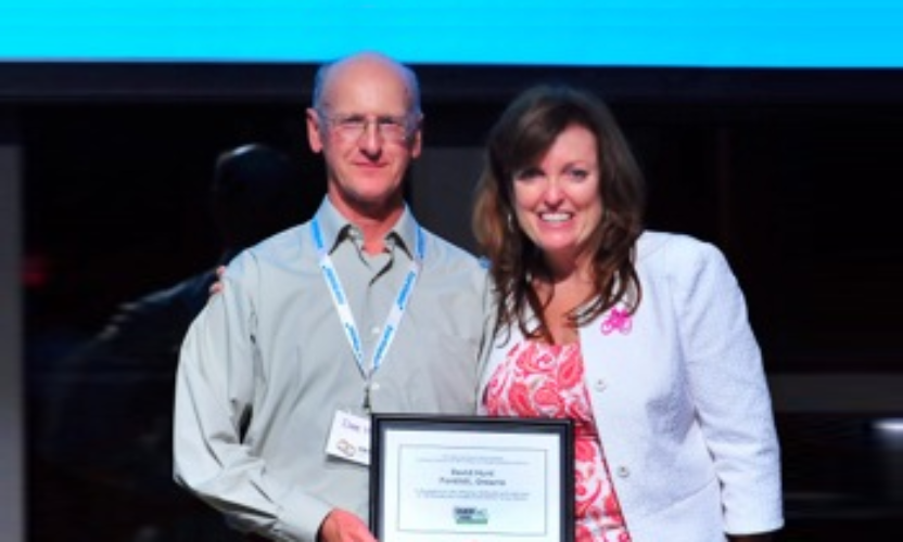 Bike Niagara's Dave Hunt receives prestigious Award!